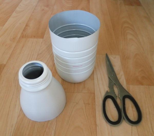 Fabriquer un bol l ger pour randonner for Deboucher toilette avec bouteille